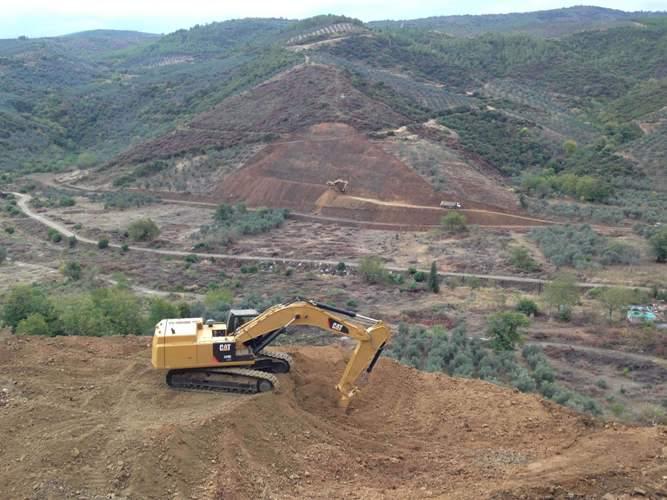Bursa Küçük Kumla Baraj İnşaatı